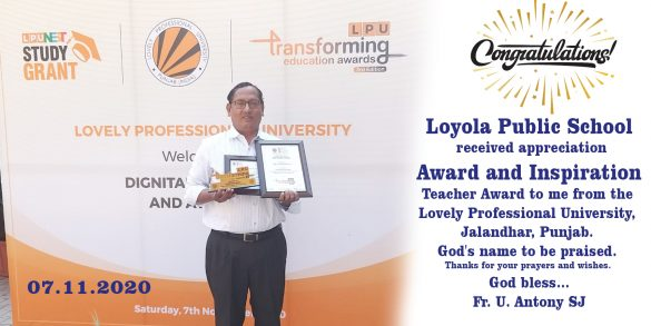 Congratulations to LPS